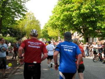 Hans und Andreas - Hamburg-Marathon 2009