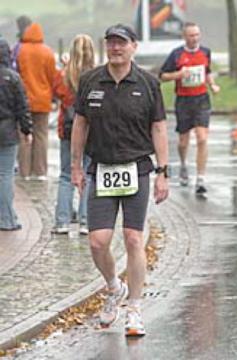 Wenn nur der Regen nicht gewesen wäre - Bremen-Marathon 2007