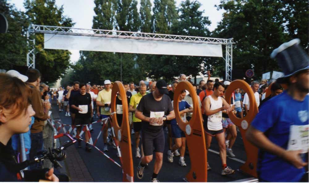 Mein erster Marathonstart - Bremen-Marathon 2005