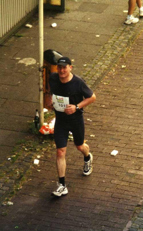 Erwischt - Bremen-Marathon 2005