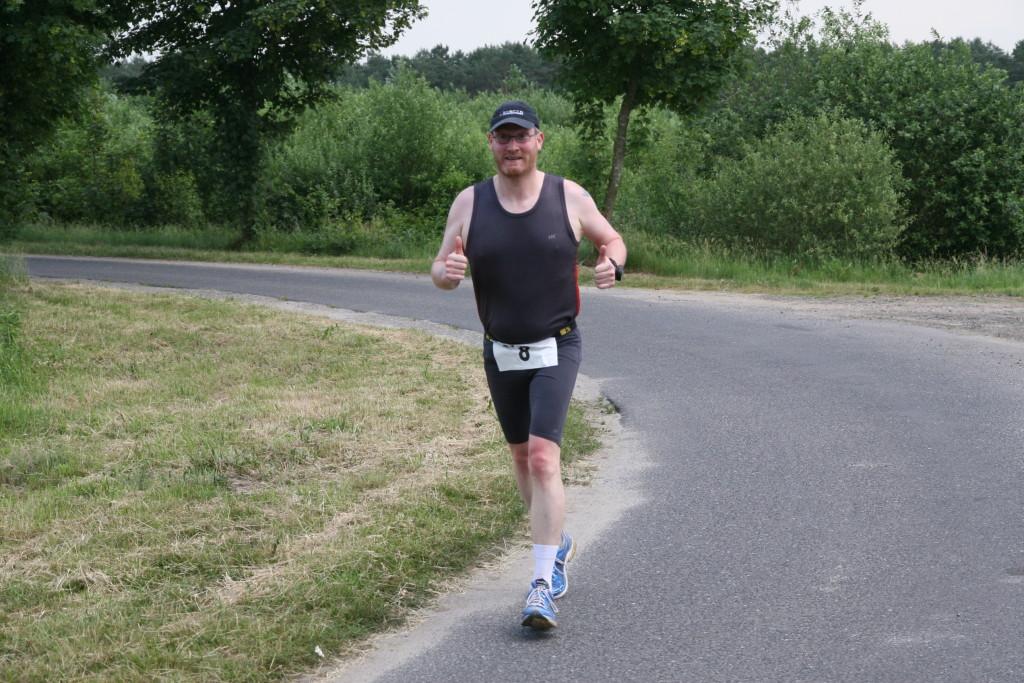Sehr motiviert unterwegs - Hesel-Marathon 2007