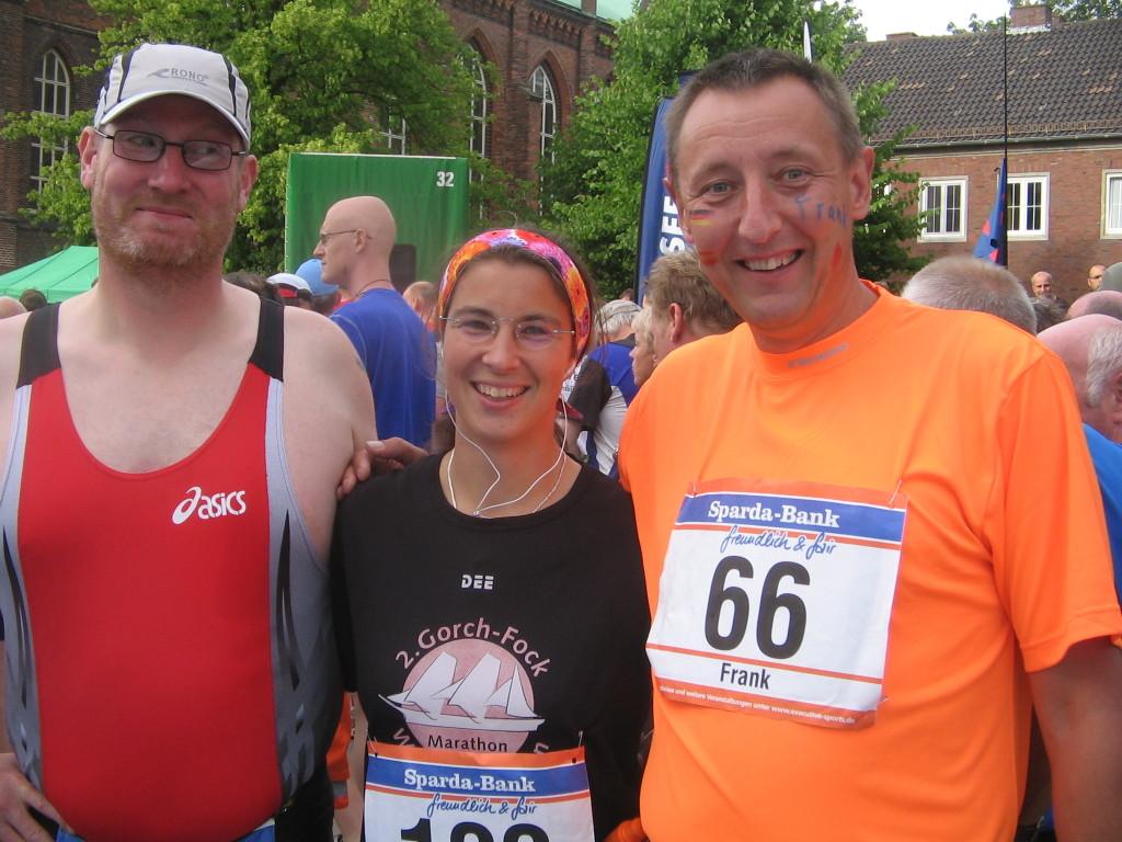 Mein erstes Streak-Runner-Treffen - Bremerhaven-Marathon 2008