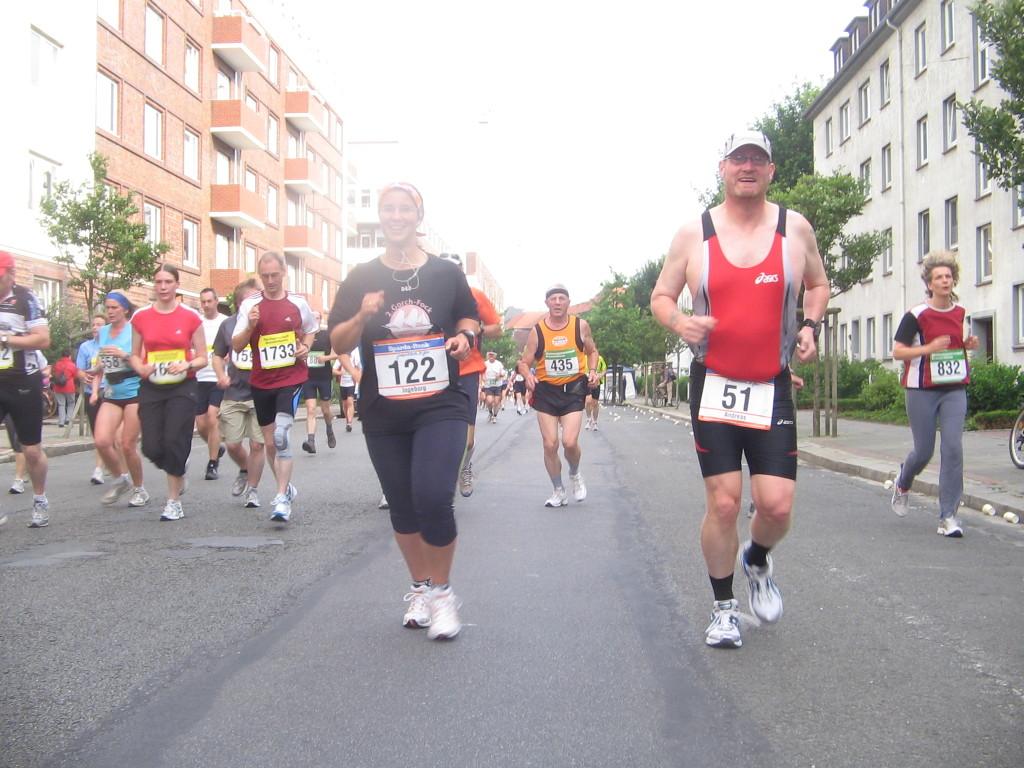 Spaß muss sein! - Bremerhaven-Marathon 2008