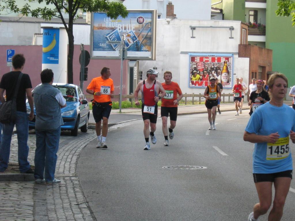 Da waren es noch 3 Streak-Runner - Bremerhaven-Marathon 2008