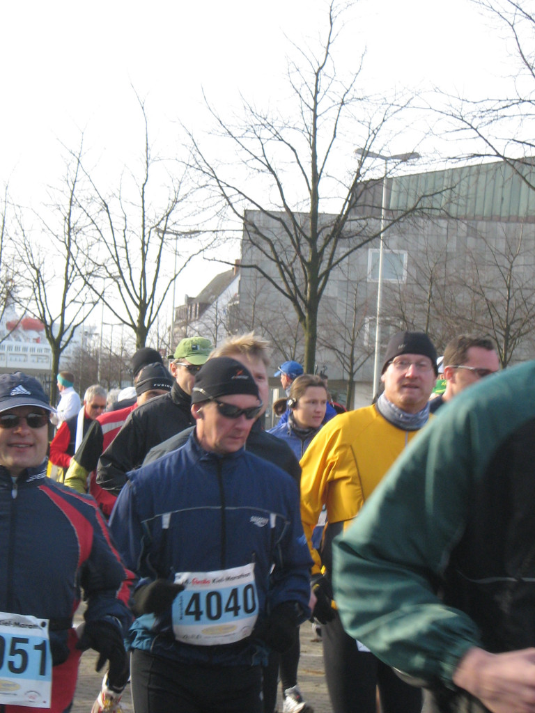 Da war ich noch guter Dinge - Kiel-Marathon 2008