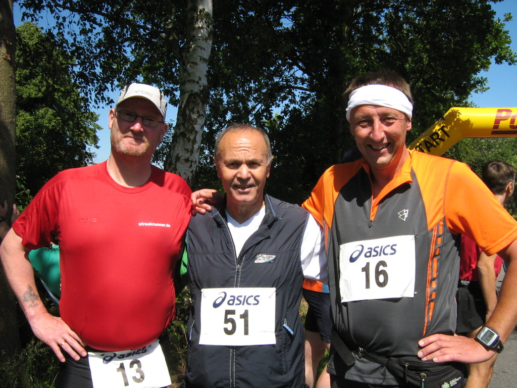 Streak-Runner-Treffen beim Hesel-Marathon 2009