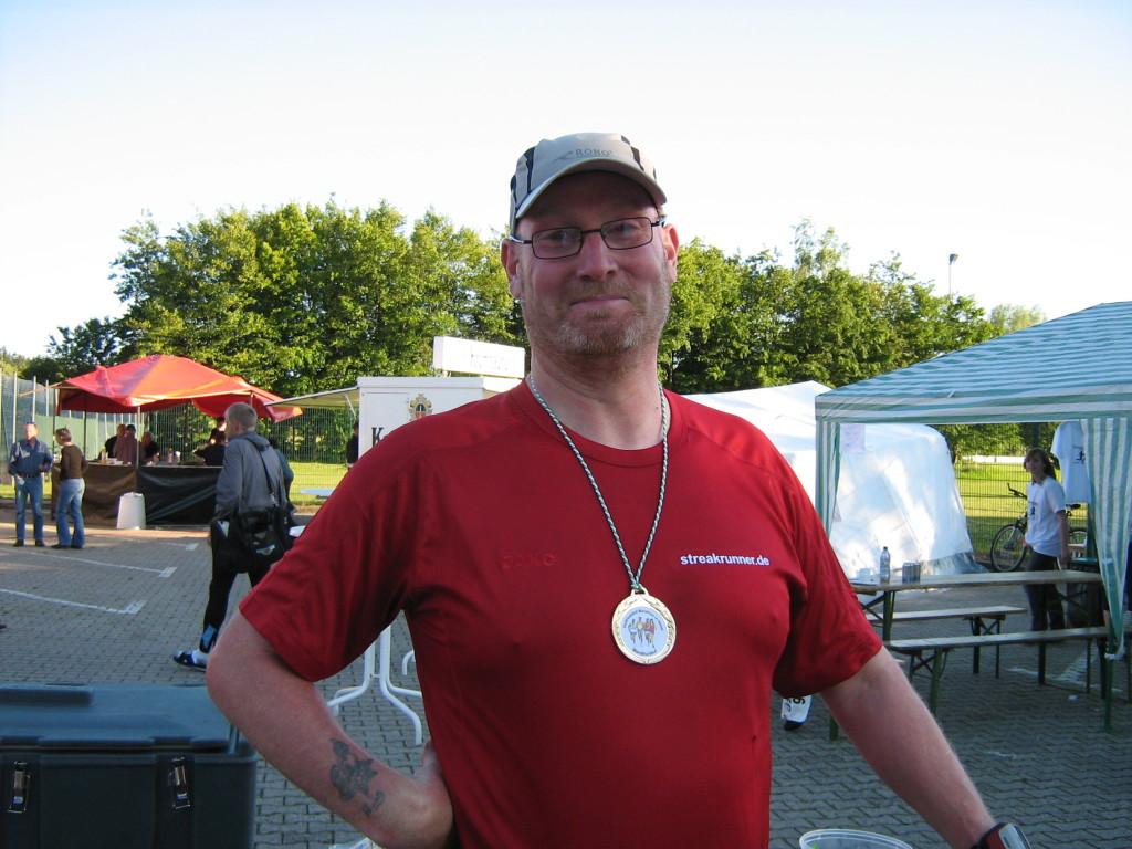Wieder ein Marathon im Sack Hesel-Marathon 2009