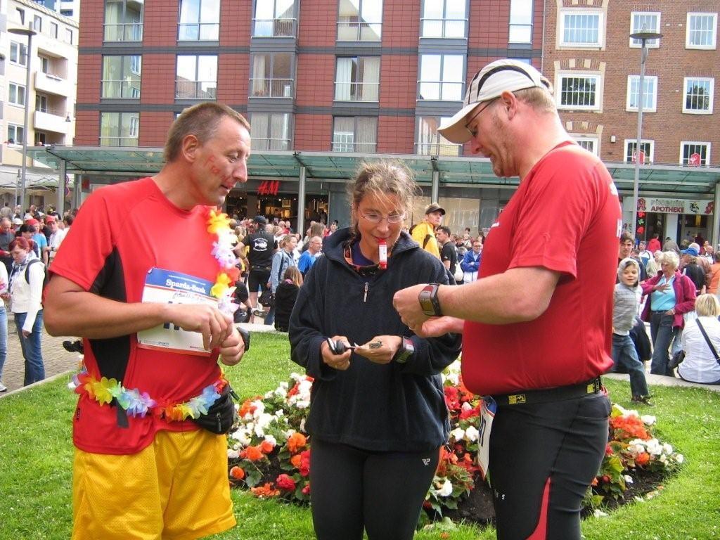 """""""Drogentausch"""" vor dem Bremerhaven-Marathon 2009"""